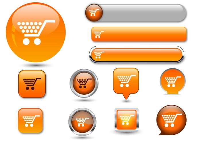 Free Web Buttons Set 06 Vector.