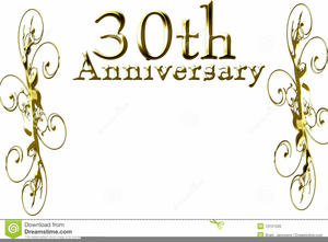Free Clipart For Th Wedding Anniversary.