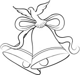 Wedding Bells Free Clipart.