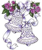Wedding Bells Clipart.