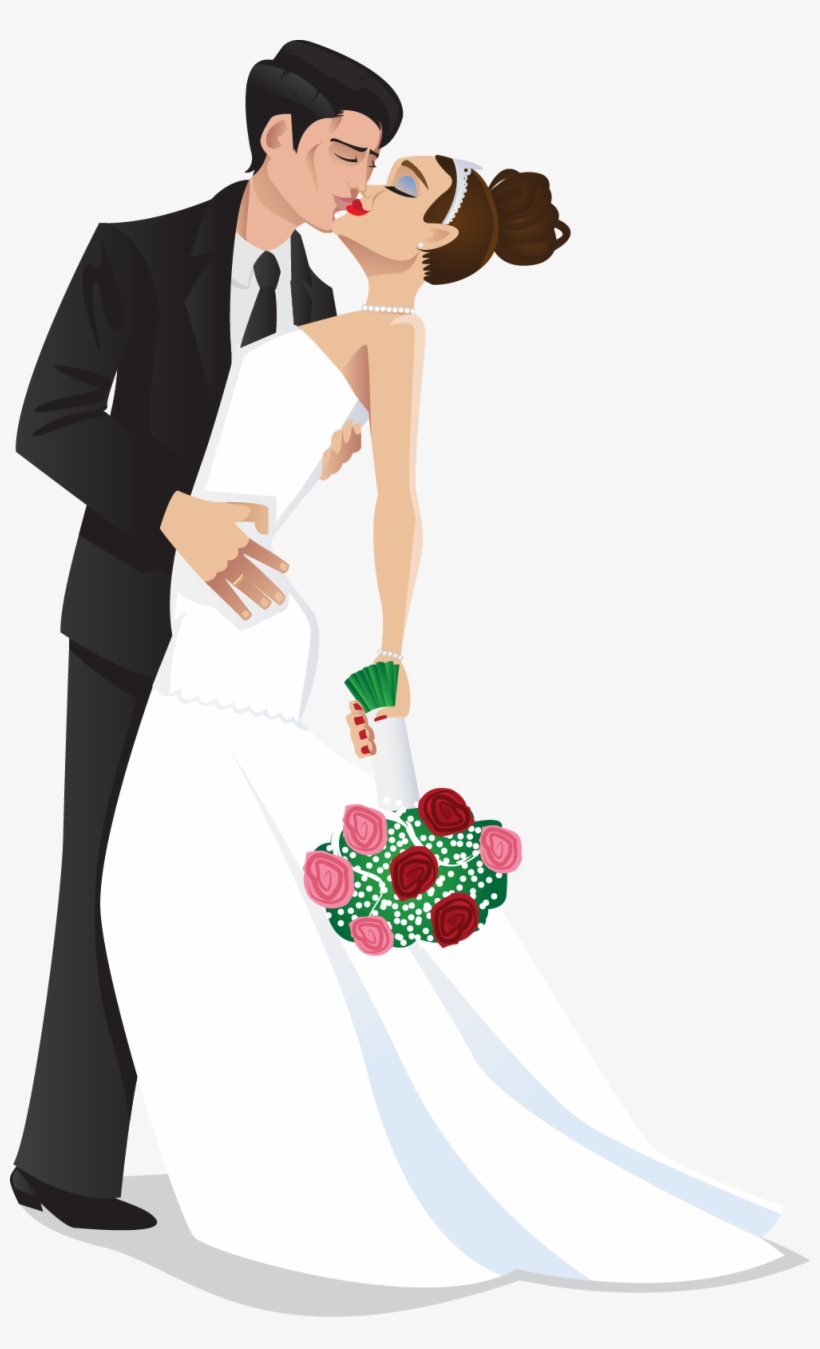 Wedding Clipart Bride And Groom Png.