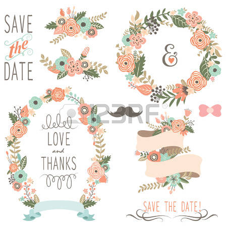 3,986 Rustic Wedding Cliparts, Stock Vector And Royalty Free.