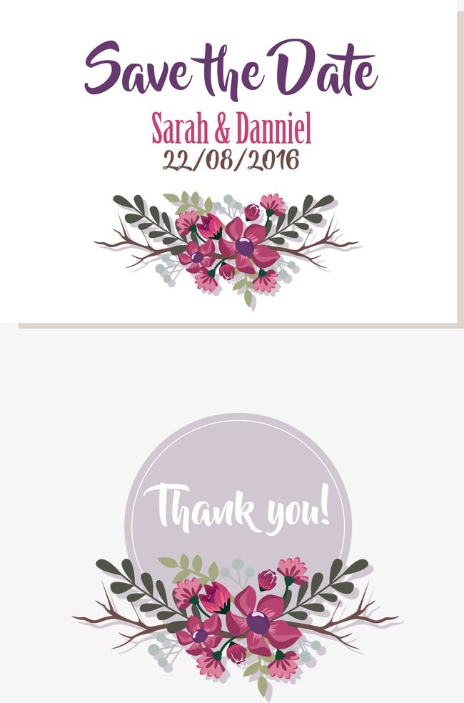 Vector Purple Border, Wedding Clipart, Invitation Card.