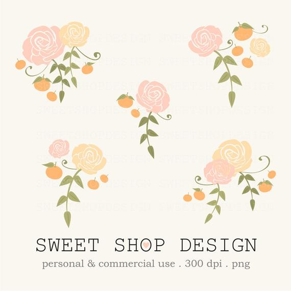 Wedding Flowers: free wedding flower clipart.