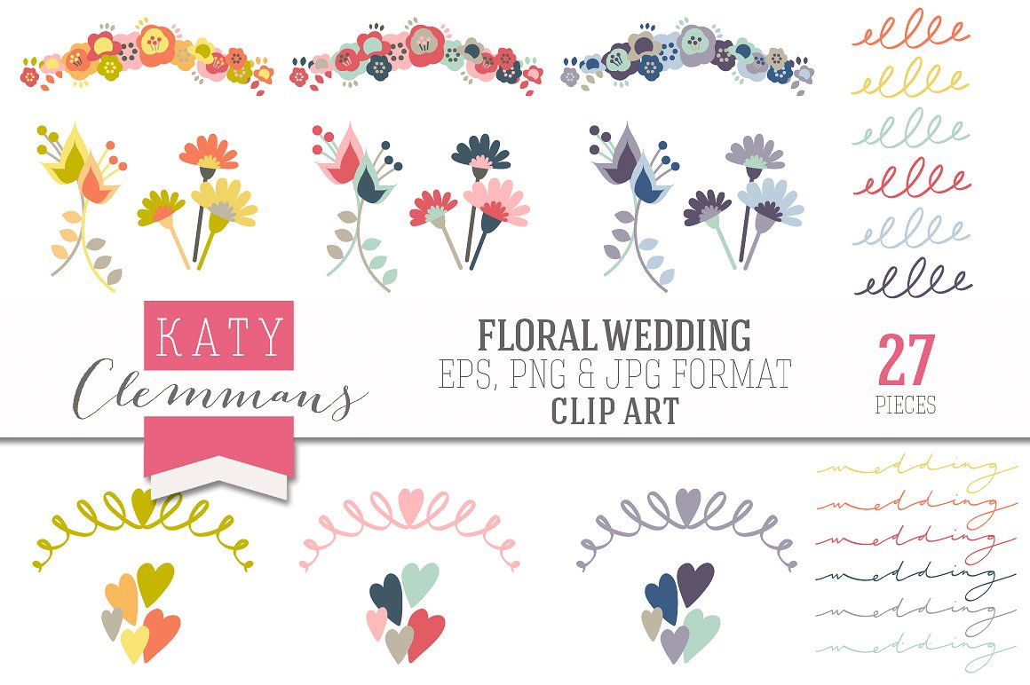 Free wedding flower clipart 6 » Clipart Station.