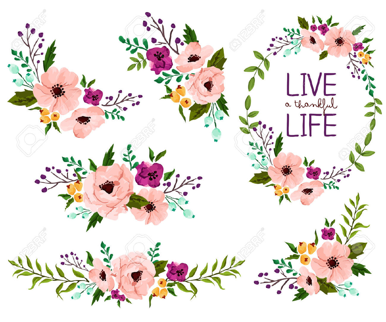Image result for free watercolor flowers vector BABY Inspiration of.