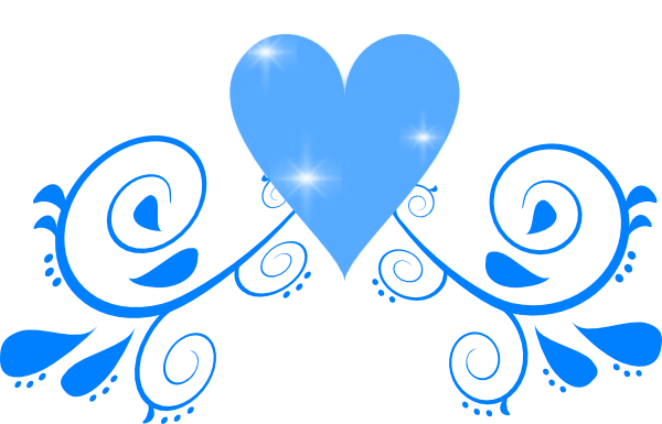 Free+Wedding+Flourish+Clip+Art+blue.