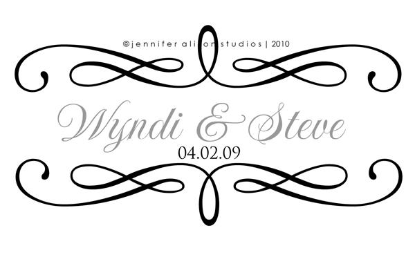 Wedding Monograms Business.