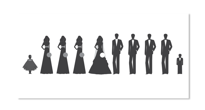 Wedding reception Clip art.