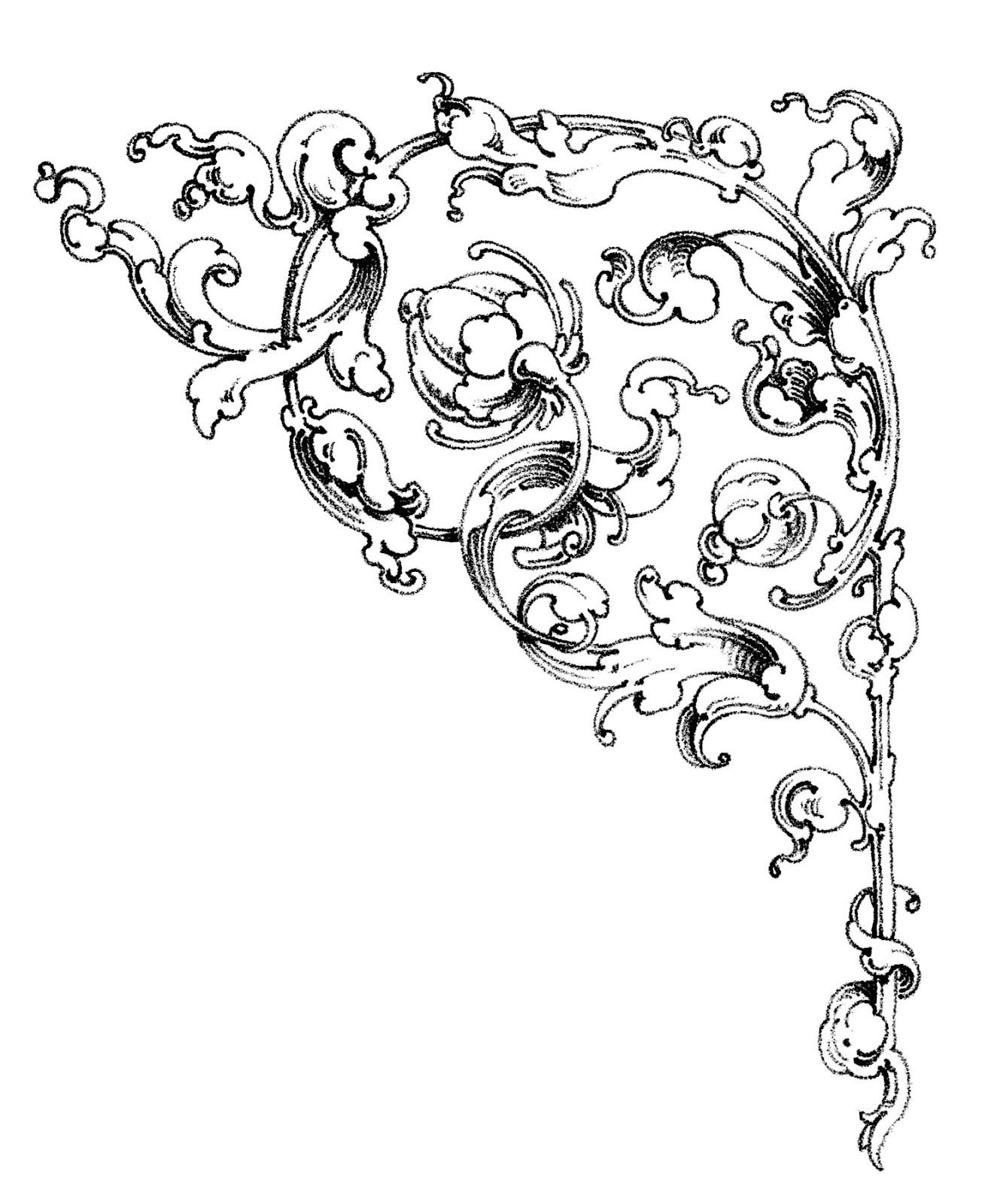 Free Wedding Scroll Clip Art N2 free image.
