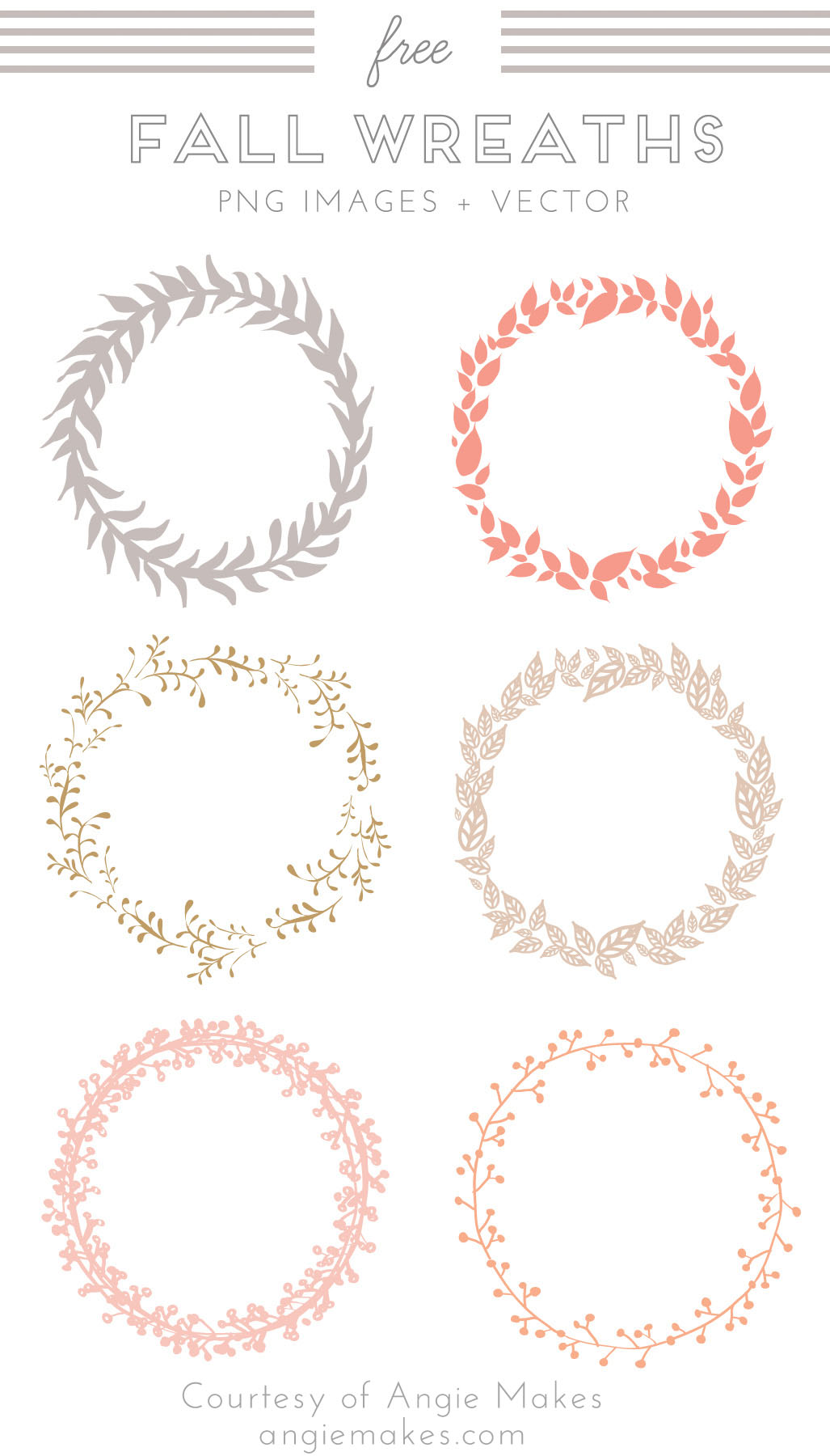Free Wedding Wreath Clipart.