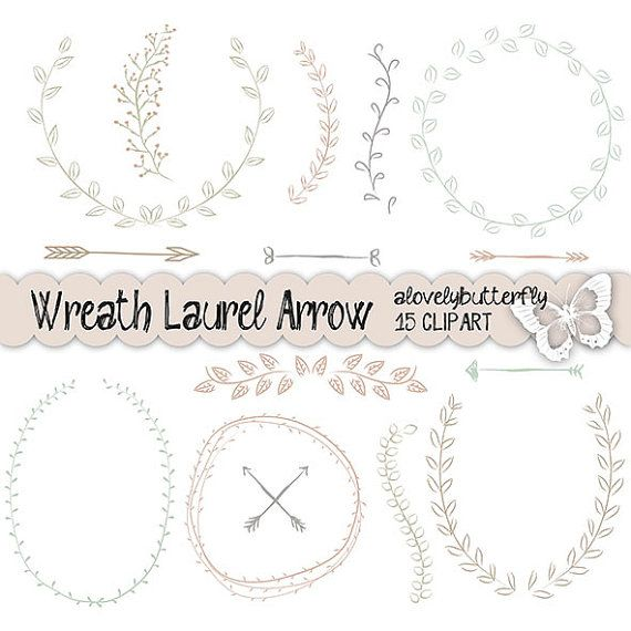 Wedding Wreath Clipart.
