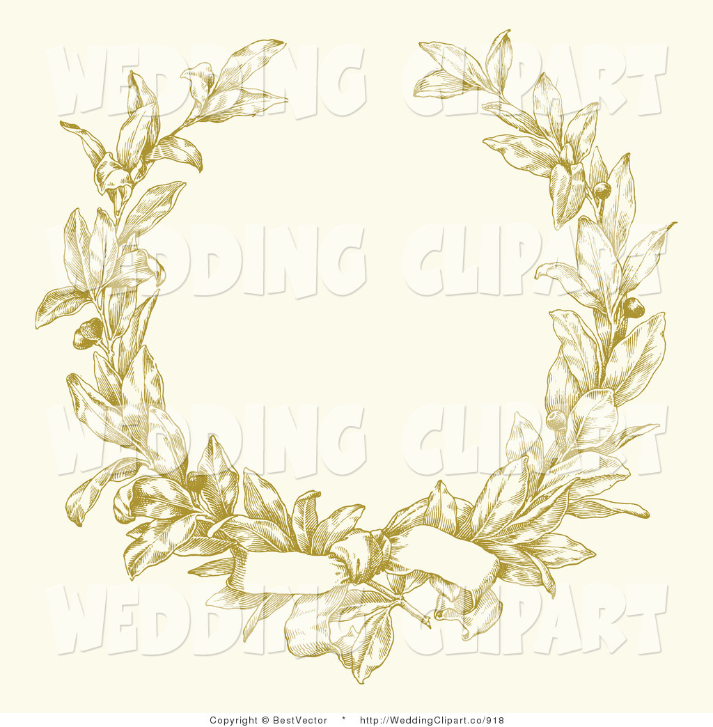 Royalty Free Wreath Stock Wedding Designs.