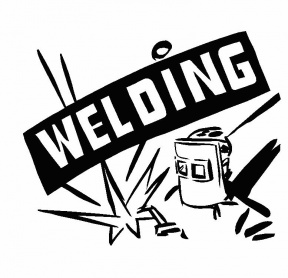 Free Welding Silhouette Clipart.
