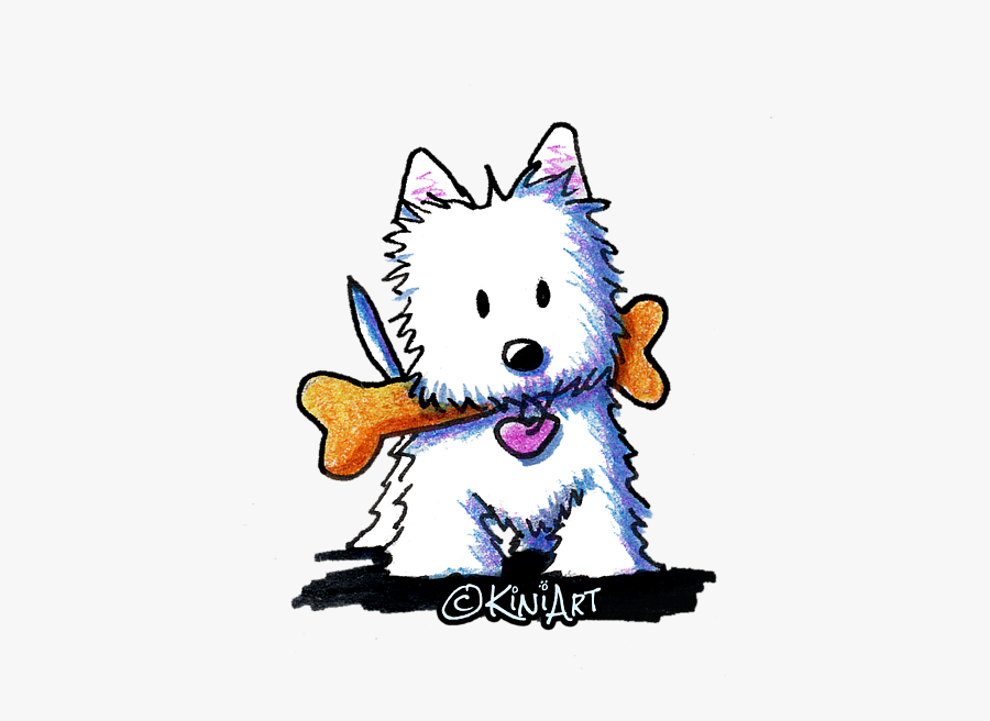 West Highland White Terrier Clipart Png.