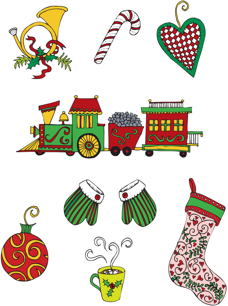 Free Whimsical Stocking Cliparts, Download Free Clip Art, Free Clip.