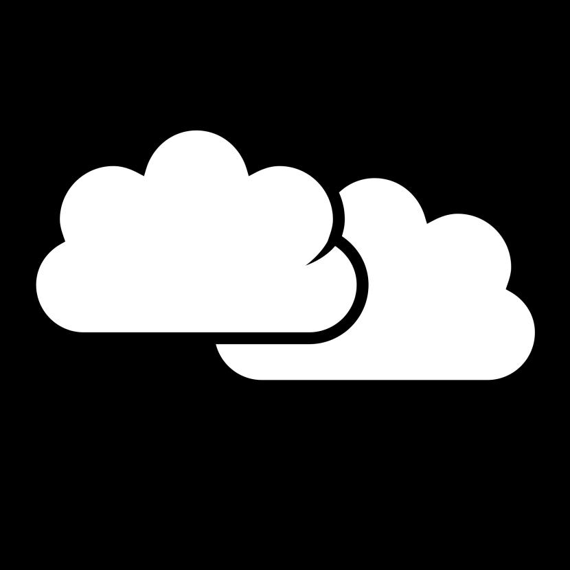 Best White Cloud Clipart #29446.