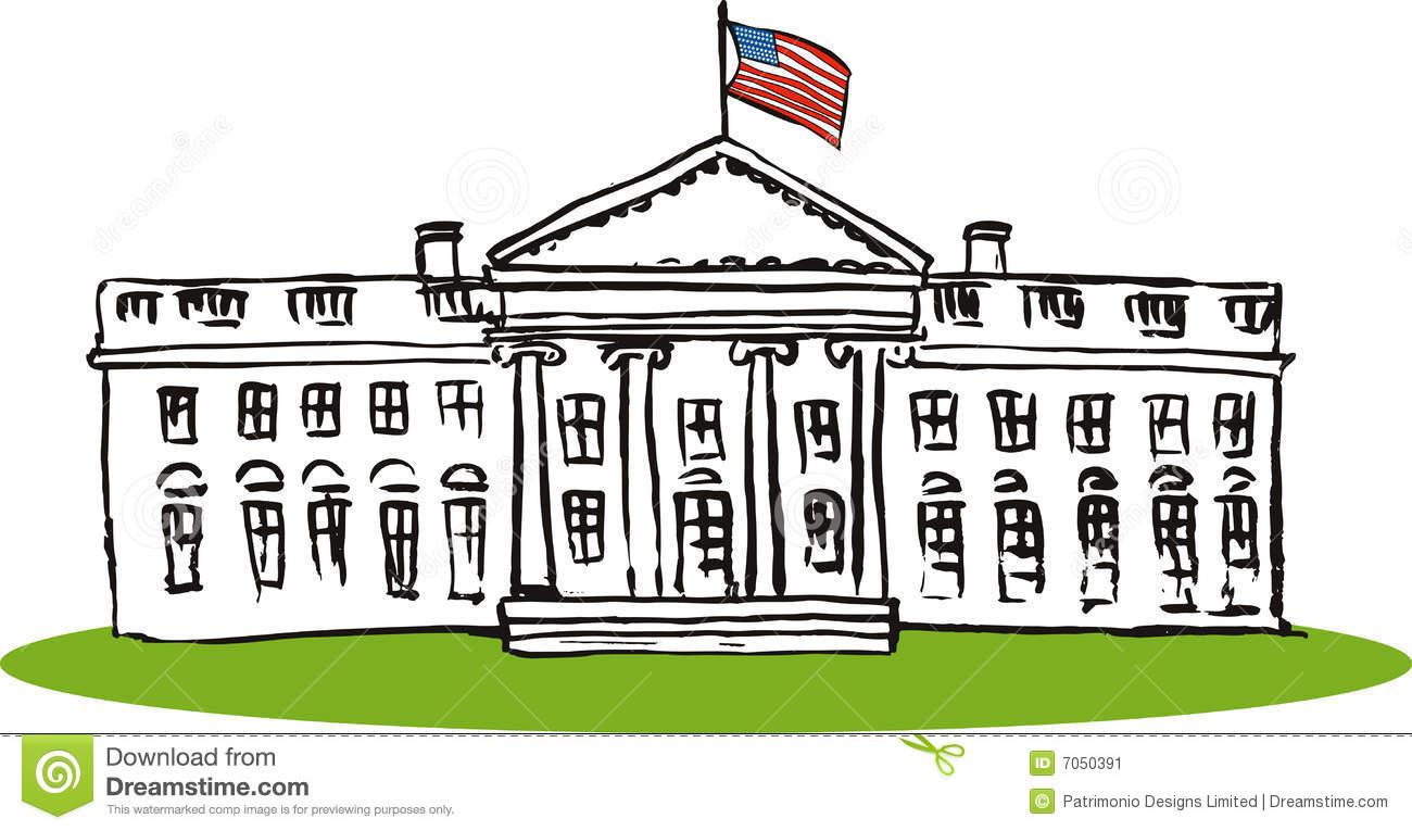 White House Clipart Easy.