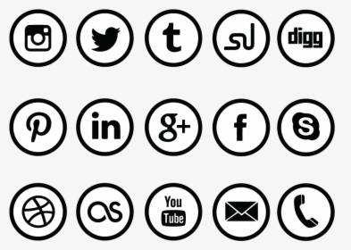 Clip Art Social Share Icons Clipart.