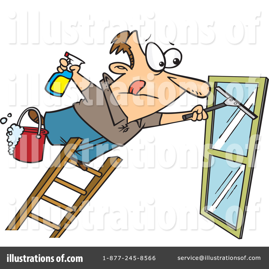 Window Cleaner Clipart #436772.