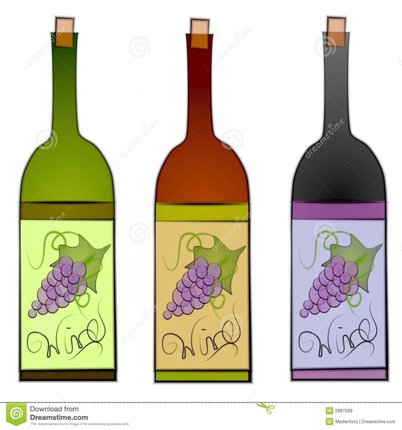 Wine Bottle Clip Art Free.
