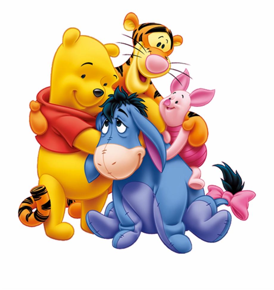 Hugging Clipart Pooh Piglet.