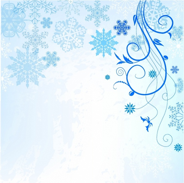 Winter Background Free vector in Adobe Illustrator ai ( .AI.