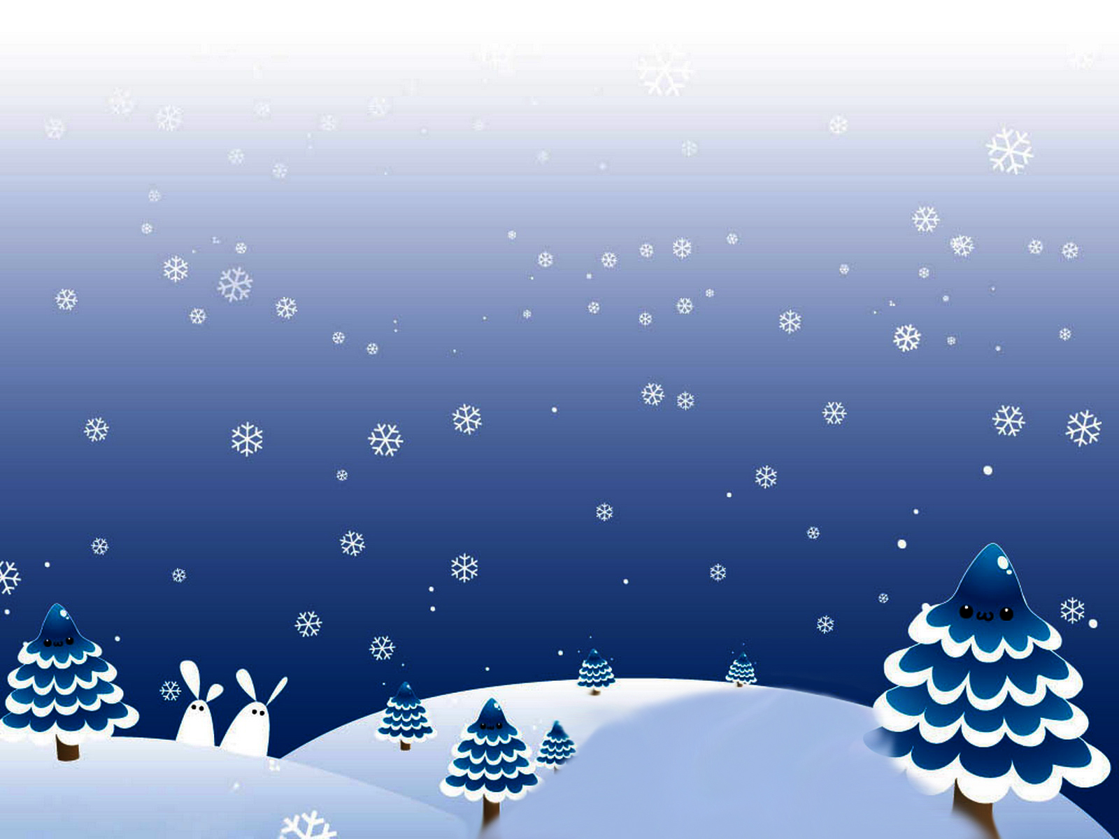 Winter Christmas Day Backgrounds For PowerPoint.