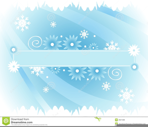 Free Winter Clipart Banners.