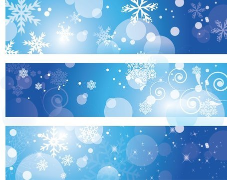 Winter Banners Clipart Picture Free Download.