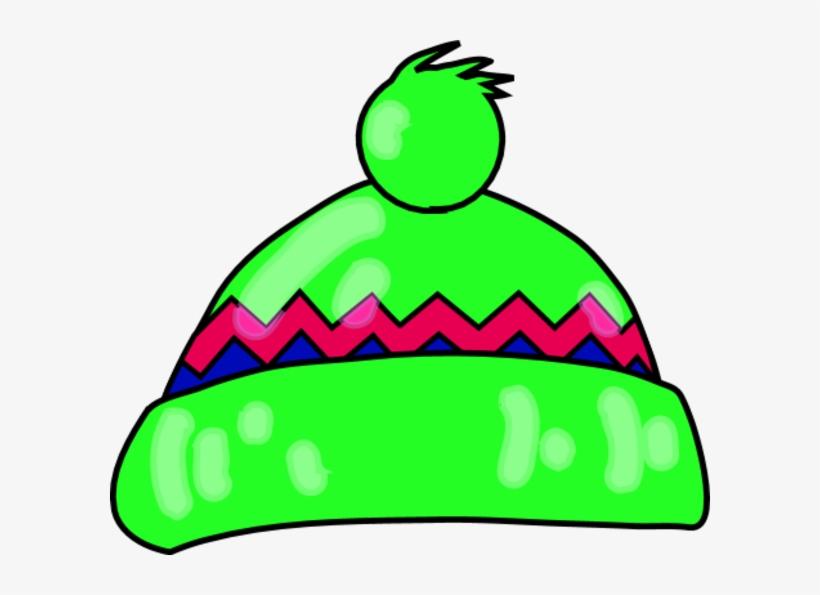 Green Clipart Winter Hat.