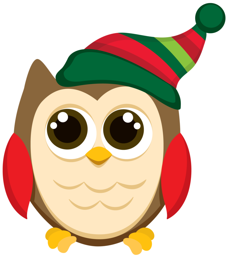 Clipart winter owl, Clipart winter owl Transparent FREE for.