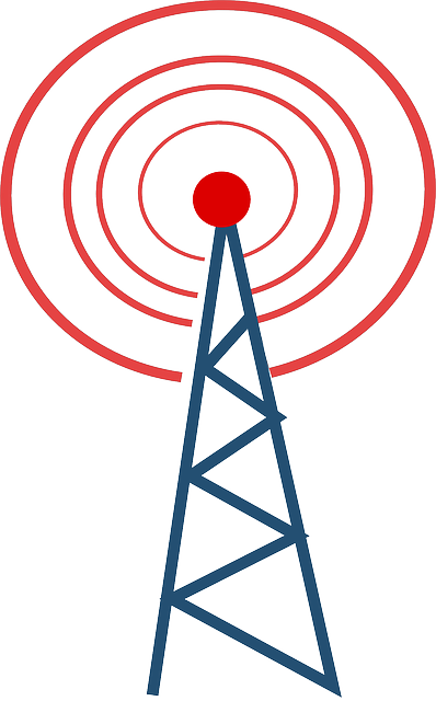 Wireless Communication Clipart.