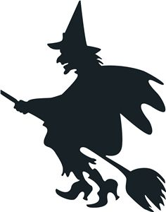 25+ best ideas about Witch Silhouette on Pinterest.