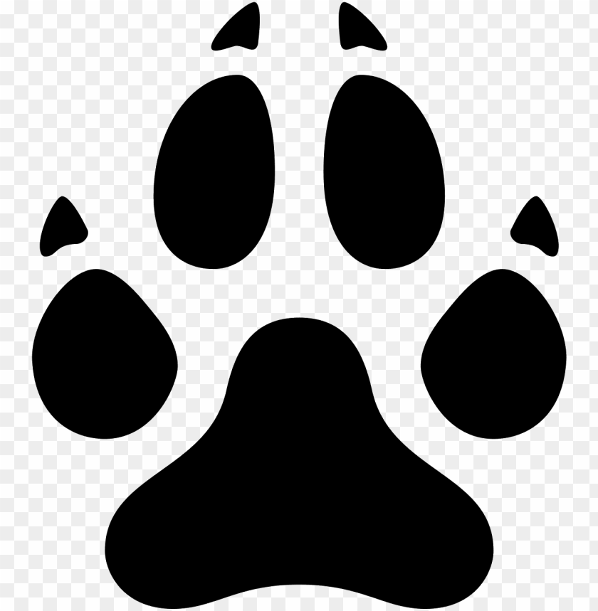 dog paw icon.