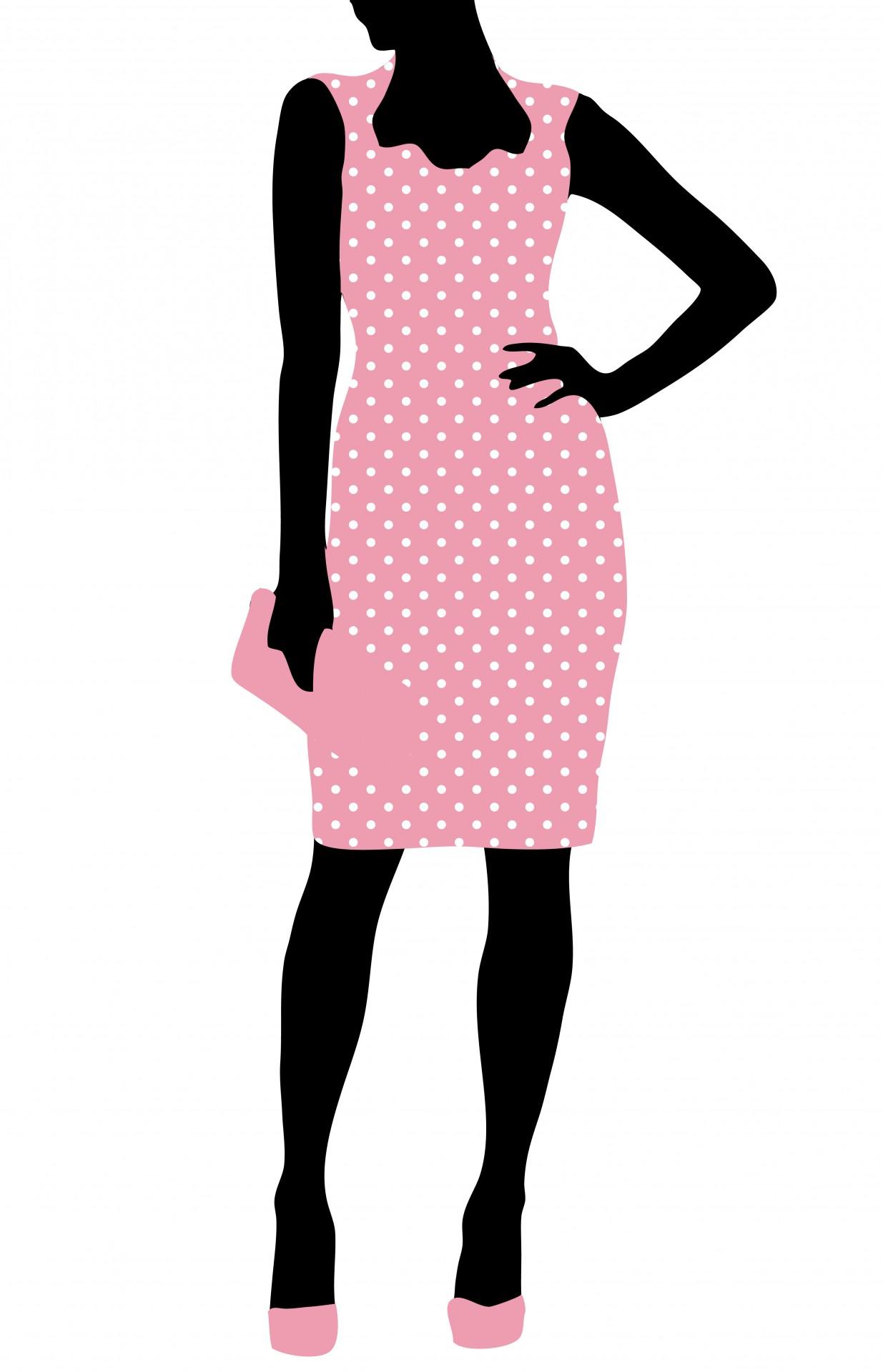 Fashion Woman Clipart Free Stock Photo.