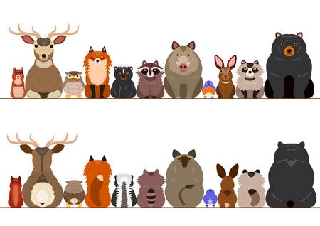 9,965 Woodland Animal Stock Illustrations, Cliparts And Royalty Free.