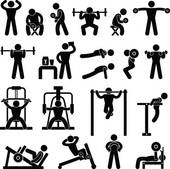 Gym Workout Clipart.
