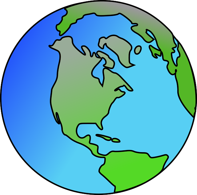 Free vector graphic: North America, World, Continents.