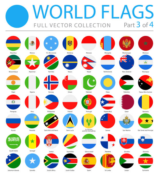 Best World Flags Illustrations, Royalty.