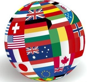 Global world flags clip arts, free clipart.