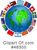 World Flag Clipart #48273.