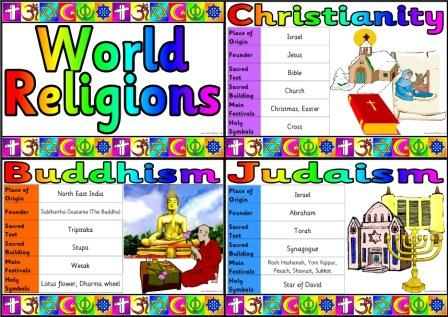 Free World Religion Clipart.