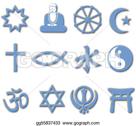 Religion Stock Illustrations.