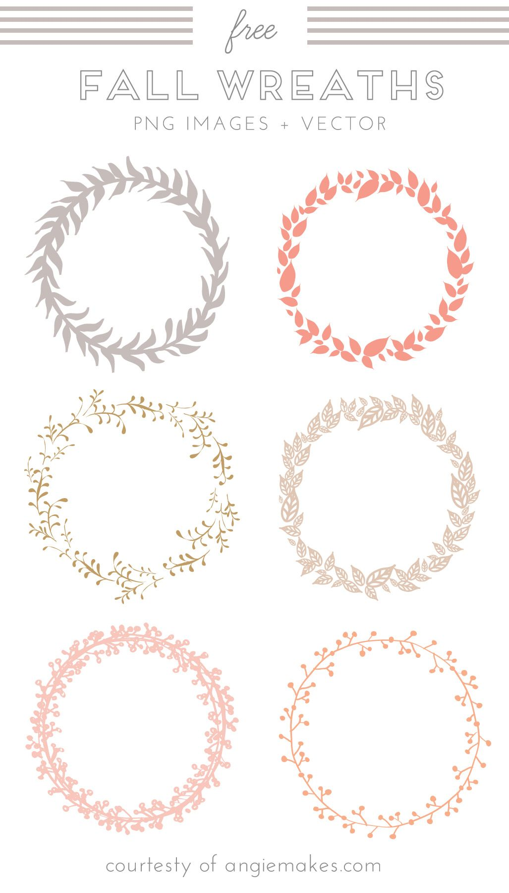 Free Wreath Clip Art.