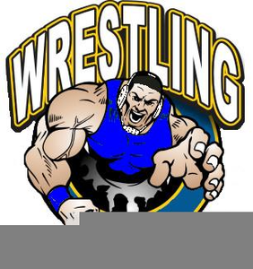 Clipart Free Wrestling.