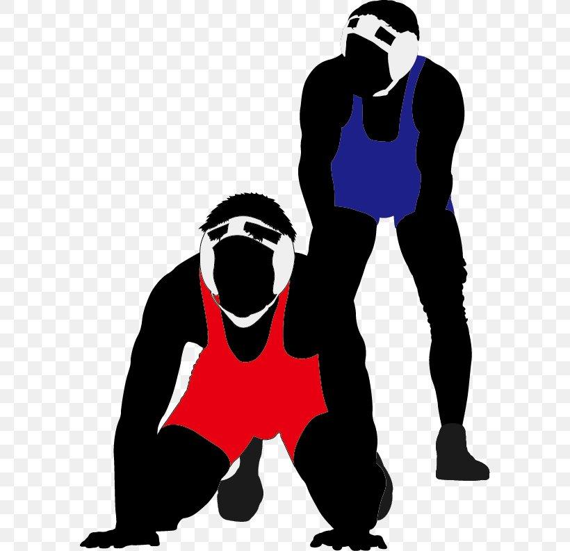 Wrestling Euclidean Vector Clip Art, PNG, 590x793px.
