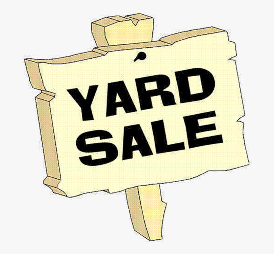 yardsale signs.