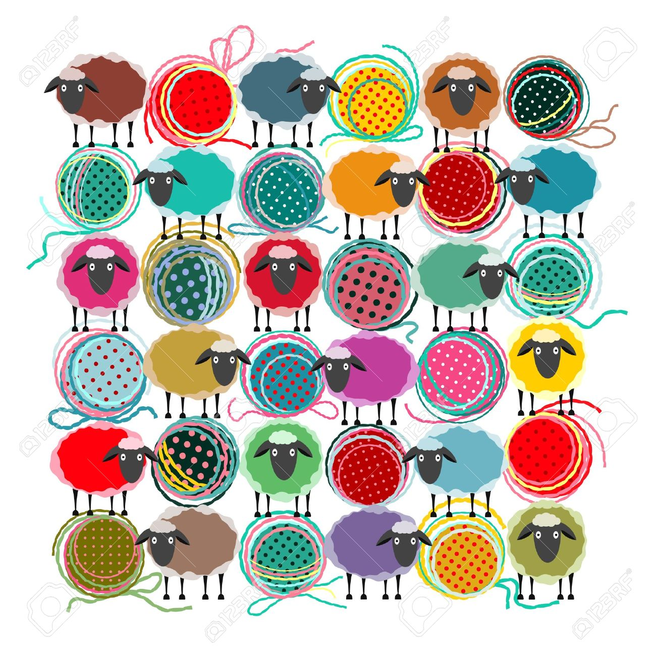 8,701 Yarn Cliparts, Stock Vector And Royalty Free Yarn Illustrations.