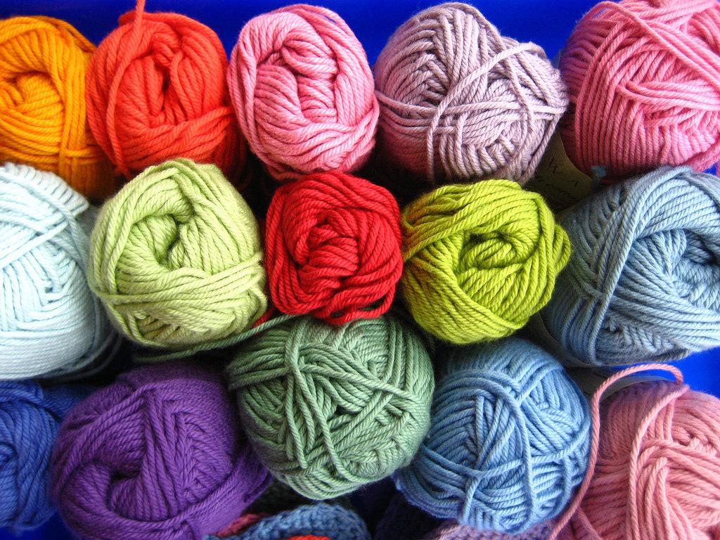 Rowan dk cotton yarn.